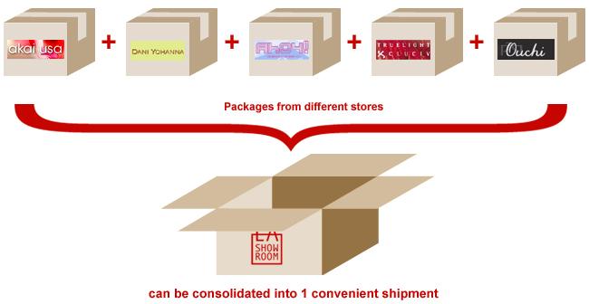 Air shipping Consolidation