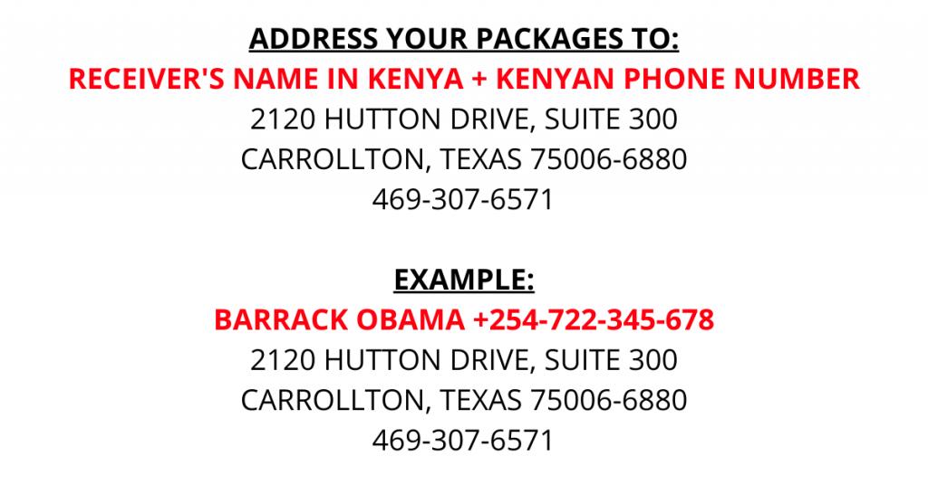 kentex cargo address